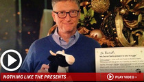 Bill Gates -- The Best or Worst Secret Santa Ever