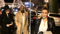 Kim Kardashian -- Kanye West Kills in 'Anchorman' Cameo