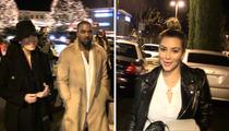 Kim Kardashian -- Kanye West Kills in 'Anchorman' Cameo
