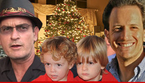 Charlie Sheen -- I'm Gonna See My Sons for Christmas!