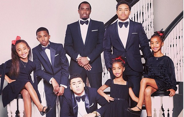 Diddy Shows His Twins How To Dance Like Beyonce!