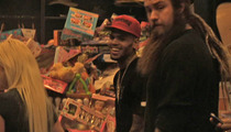 Chris Brown -- Anger Free During Rehab Field Trip to Charity Toy Drive