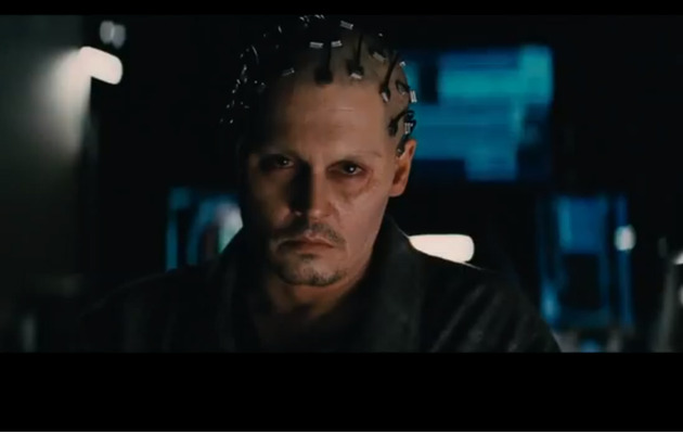 "Johnny Depp Becomes A Computer in ""Transcendence"" Trailer!"