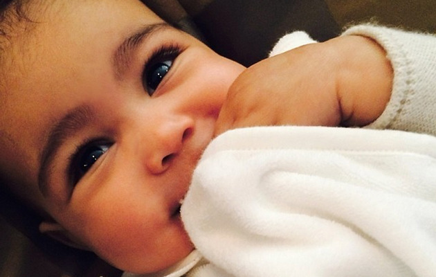 Kim Kardashian Shares Snapshot of North West's Mini Lamborghini!