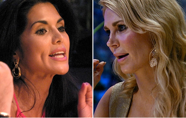 Joyce Giraud Calls Brandi Glanville Stupid & Racist -- See the Video!