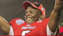 Teddy Bridgewater -- Agents Hounding QB's Mom In Battle to Sign NFL Prospect