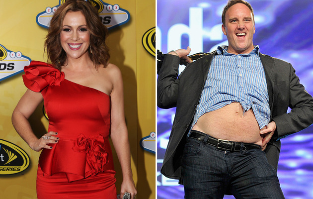 Jay Mohr On Fat Shaming Alyssa Milano: It Was a Joke!