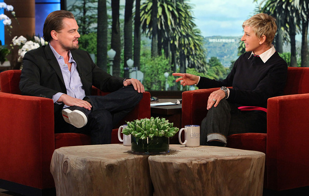 "Leonardo DiCaprio Reveals Gross Secret Behind ""Wolf of Wall Street"" Ham Scene"