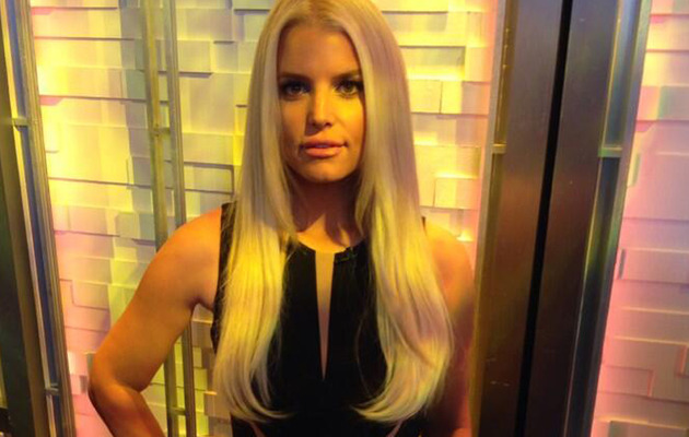 "Jessica Simpson Shows Off Slim Waist on ""Good Morning America"""