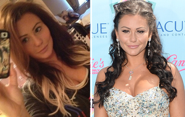 JWoww Shows Off Blonde New 'Do!