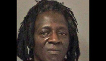 Flavor Flav -- ARRESTED For Driving on 16 License Suspensions ... Then Let Go!