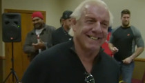 Ric Flair -- Angry Panthers Fans Wanna Kill Me ... For 49ers Pep Talk
