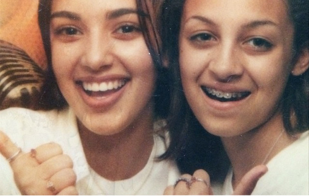 "Kim Kardashian Shares ""Cool"" Throwback With Nicole Richie!"