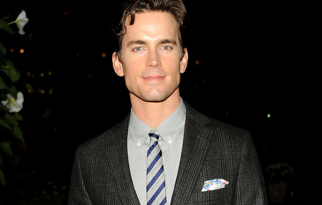 Matt Bomer Gets a Buzz Cut, Remains Sexy