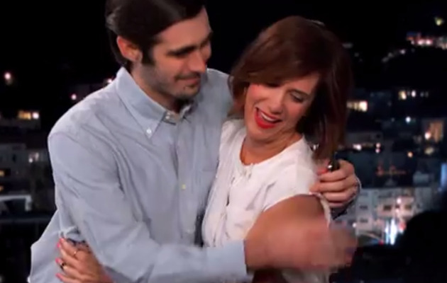 "Video: Kristen Wiig Goes on Awkward First Date on ""Jimmy Kimmel Live"""