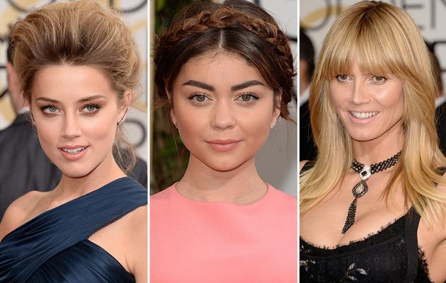 Golden Globe Awards: Hair and Makeup Mishaps!
