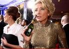 Emma Thompson -- Martinis Get Me Through Golden Globe Awards