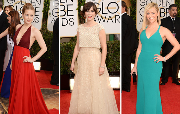 Golden Globes 2014: Red Carpet Trends!