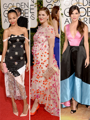 2014 Golden Globes -- Our Picks for Worst Dressed