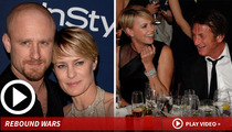 Robin Wright & Sean Penn -- My New Side Piece is Better Than Yours