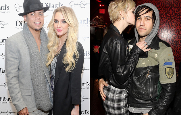 Ashlee Simpson's Engagement Rings -- Evan Ross vs. Pete Wentz!