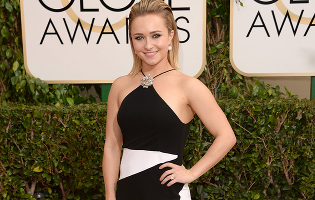 Hayden Panettiere Store Bought Globes Dress, Gets Sweet Note From Tom Ford!