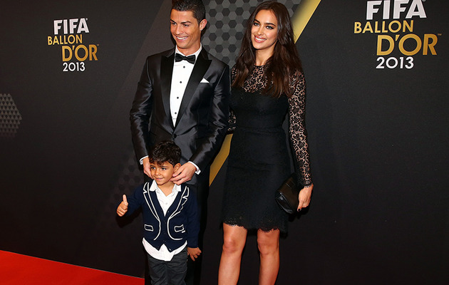 Cristiano Ronaldo's Son Makes Super Cute Red Carpet Debut