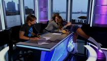 Patriots Cheerleader -- BLOWS J.LO AWAY ... On 'American Idol' Audition