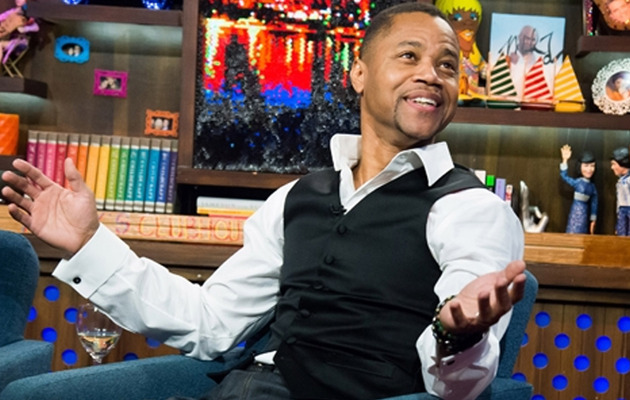 Cuba Gooding Jr. Strips Off His Pants on Live TV!
