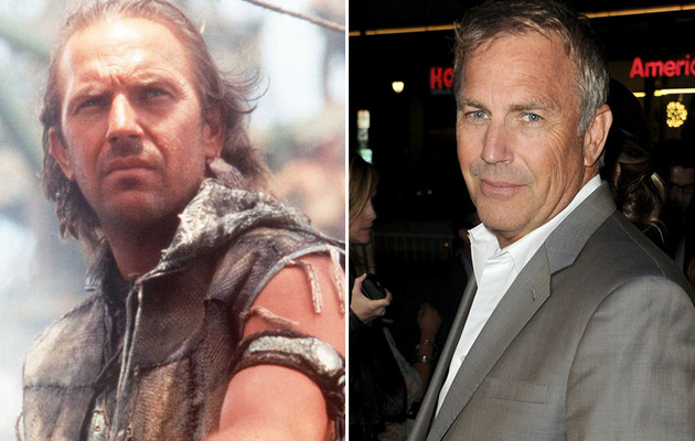 Kevin Costner Turns 59 -- See More '90s Hunks Then & Now!