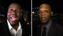 Magic Johnson and Samuel L. Jackson Party At First Lady's 50th Birthday