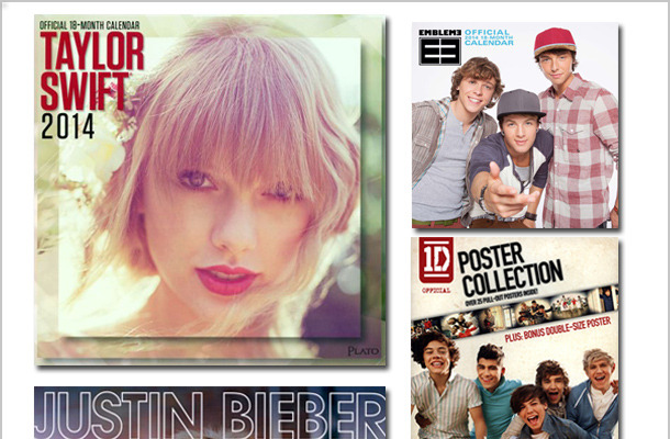 Win a Prize Pack of Pop Star Calendars!