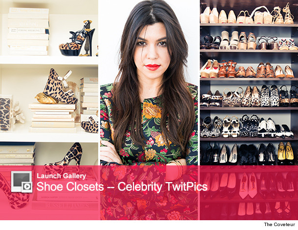 Take A Peek Inside Kourtney Kardashians Fabulous Closet