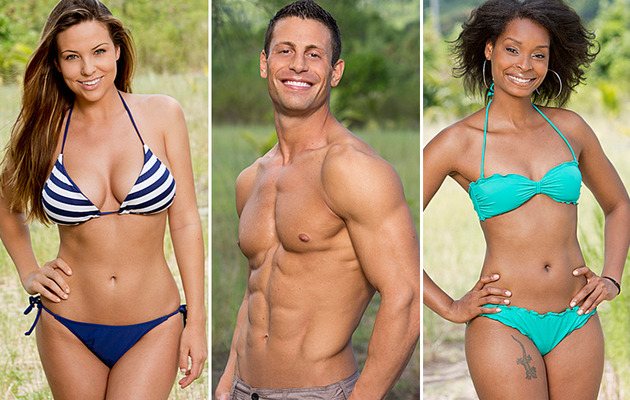 "New Photos: See the Hard-Bodied Cast of ""Survivor: Brains vs. Brawn vs. Beauty"""