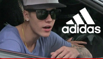 Adidas Standing By Justin Bieber -- He's Still Wearing Our Kicks