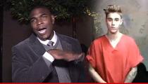 Keyshawn Johnson -- Celebrates Justin Bieber Arrest ... THEY FINALLY CAUGHT HIM!!