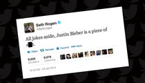 Seth Rogen -- Justin Bieber Is a 'Piece Of Sh*t'