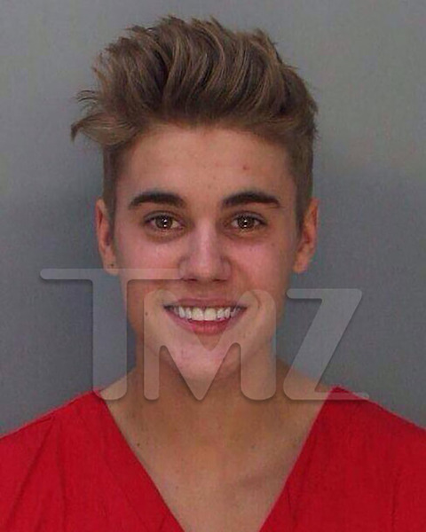 Bieber was arrested in Miami Beach in January 2014 for a DUI, resisting arrest without violence, drag racing and driving with an expired license.
