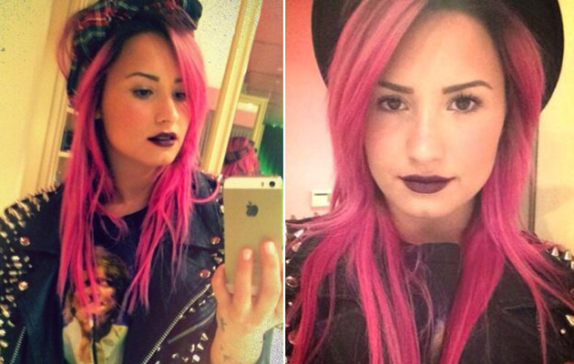 Demi Lovato Dyes Her Hair Neon Pink -- See the Pics!