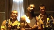 Snoop Dogg -- Smokes Out Hotel Room ... Firefighters Race to Scene