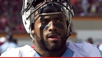 UNC Linebacker -- Body Checks Parking Attendant ... Cops Say