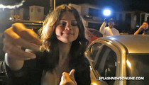 Selena Gomez Out on the Town After Justin Bieber Arrest -- SMILES FOR MILES