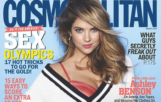Ashley Benson Talks Nudity, Drugs & Love in Cosmopolitan