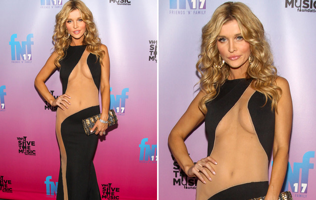 Joanna Krupa Just Wore the Most Revealing Dress of 2014