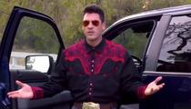 'DWTS' Star Maksim Chmerkovskiy -- I'm a Skinny-Dipping Cowboy Now