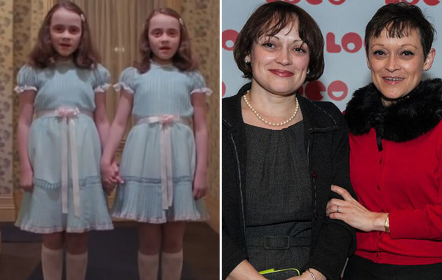 """The Shining"" Twins Make Rare Public Appearance -- See Them Now!"