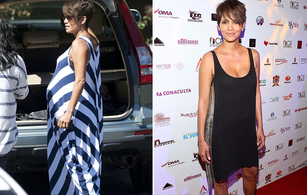 Halle Berry Flaunts Slim Post-Baby Body on the Red Carpet!