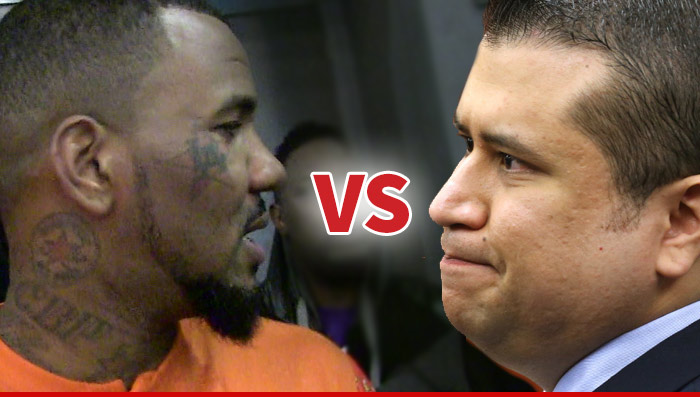 George Zimmerman VS The Game Celebrity Boxing Match ...