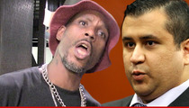 DMX -- I'll Piss on George Zimmerman's Face