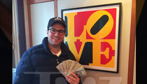 Super Bowl Fan Wins $25K Over Big Bet -- For the SECOND TIME!